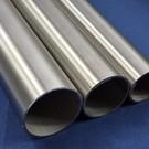 Tube ronde inox  en acier inoxydable rond 76,1x2mm Acier inoxydable 1.4301 surface brossé en grain 240