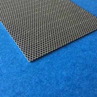 Lochblech 1,0mm Rundloch 1,5mm, Teilung versetzt 2,5mm Schnittkanten offen