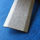 Versandmetall Fugenabdeckleiste 1.4301 gebürstet 2-fach 172° abgekantet