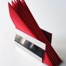 Versandmetall Eleganter Serviettenspender Edelstahl Oberfläche spiegelnd/glänzend