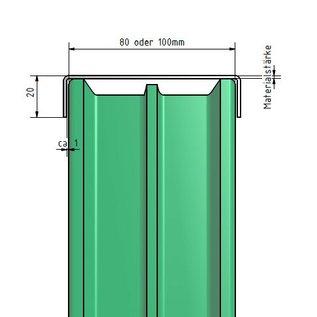 profil de montage bloc de construction en verre acier. Black Bedroom Furniture Sets. Home Design Ideas