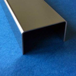 einfassprofil glasbaustein edelstahl 2 0 mm l ngen bis. Black Bedroom Furniture Sets. Home Design Ideas