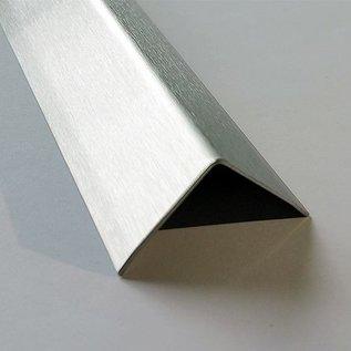 Versandmetall -1 Kantenschutzwinkel 30x30x1,5x2000mm K320 -Einseitige Lochreihe 4x D4 gesenkt A= 450mm