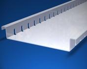 Drainagerinnen, Entwässerungsrinne flach Form F (flach) aus Aluminium