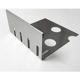 Versandmetall Kiesfangleiste klein Falz Edelstahl 1.4301 Höhe 40-75mm