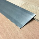 Versandmetall Ausgleichsprofil Übergangsleiste 4,5mm 1.4301 gebürstet 2-fach abgekantet