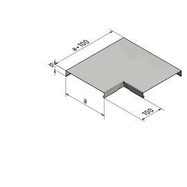 Versandmetall Mauerabdeckung Attikaabdeckung 90° Eckverbinder 1,0 mm Alu antrazit