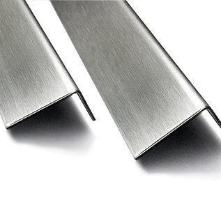 Versandmetall -1 Stck Sonderzuschnitt Edelstahlblech 1,0mm eins. geschiffen K320: 350x350mm