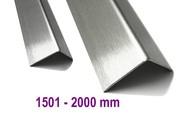 Edelstahl bis 2000 mm (2,0m )Länge