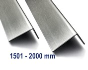 Corniere inox Acier inoxydable jusqu'à 2000mm ( 2,0m ) longueur