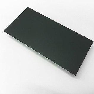 Aluminiumblech Zuschnitte Aluminium 1,0mm anthrazit ( RAL 7016 )  mit Schutzfolie bis Länge 1500mm