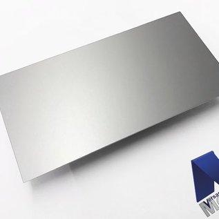 Aluminiumblech Zuschnitte AlMg1 eloxiert E6/EV1 mit Schutzfolie bis Länge 1500 mm