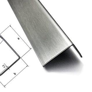Versandmetall - 250 Stck Kantenschutzwinkel 3-fach gekantet 1,0mm aussen K320 axb 25x25mm Länge 95mm ( 9,5 cm )