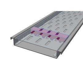 Versandmetall Renforcement Série F (Fx) 140/25 en acier inoxydable - Pour largeur d'entrée fendue 140mm