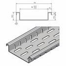 Versandmetall Drainagerinnen Form Fx mit Bodenlochung nur 25,5mm hoch aus Aluminium Einlaufbreiten 90 bis 190mm