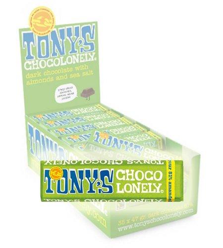 Tony's Chocolonely Puur Amandel Zeezout 47 gram