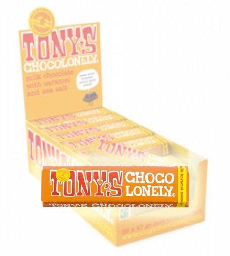 Tony's Chocolonely Melk Karamel Zeezout 47 gram