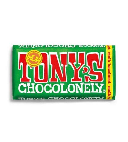 Tony's Chocolonely Melk Hazelnoot 180 gram