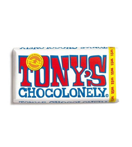 Tony's Chocolonely Witte Chocolade 180 gram