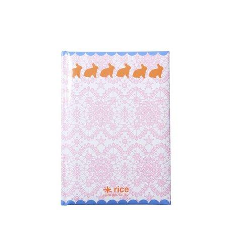Rice Notitieboek A5 Roze