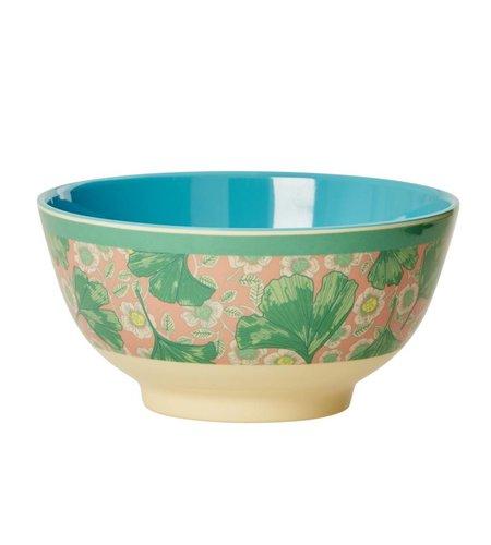 Rice Schaaltje Melamine Bladeren & Bloemen 15 cm