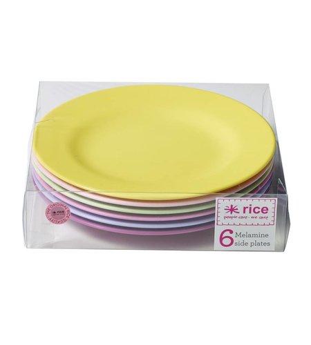 Rice Borden Set Melamine Verschillende Kleuren