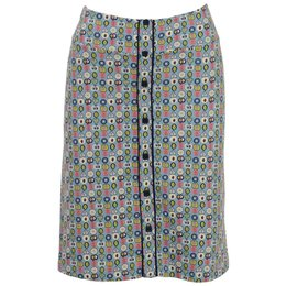 King Louie Button Skirt Tosca