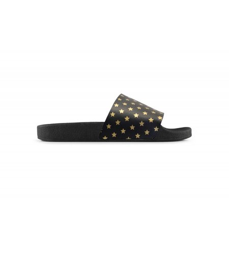TheWhiteBrand Mini Gold Stars Black