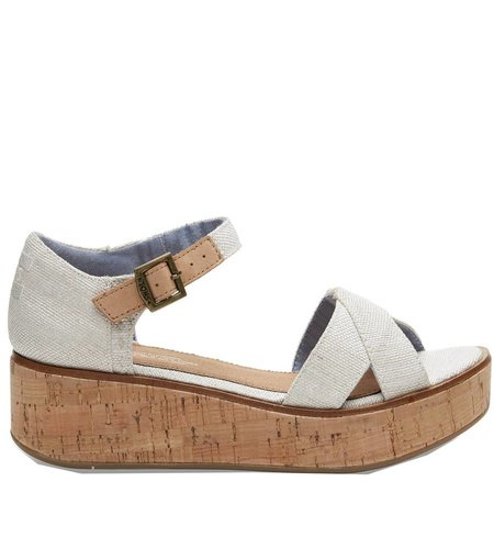 TOMS Harper Wedge Yarn Naturel