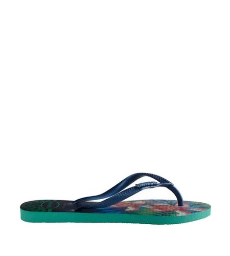 Havaianas Slim Tropical Mint Green