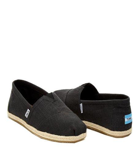 TOMS Washed Canvas Black