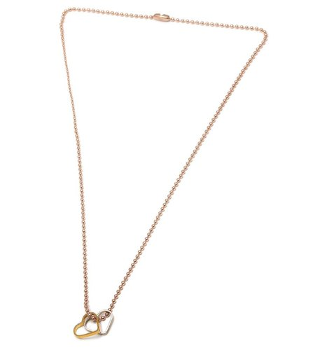 SeeMe Two Hearts Army Chain Rose
