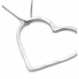 SeeMe Medium Heart Long Venetian Chain