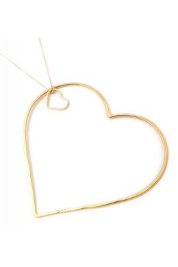 SeeMe Two Hearts Long Venetian Chain