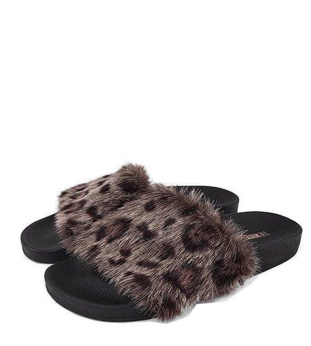 TheWhiteBrand Leopard Fur Grey