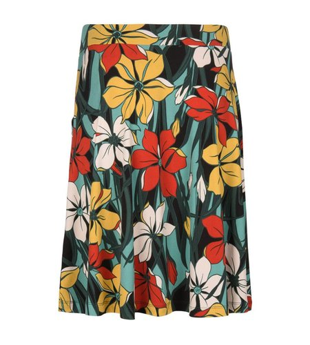 King Louie Sofia Skirt Frolica Clay Red