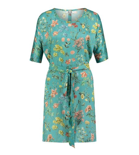 IEZ! Dress Several Prints Blue
