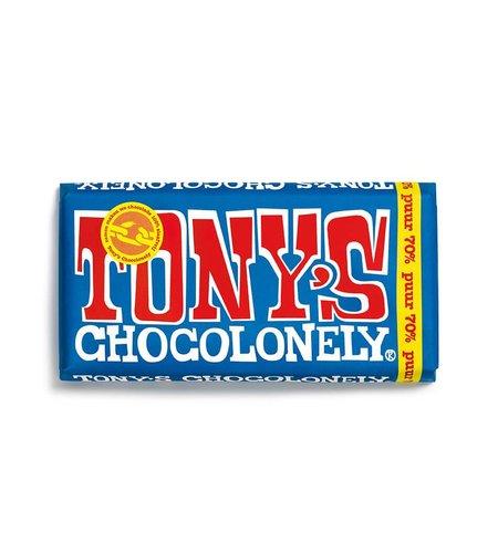 Tony's Chocolonely Stapelblik Melk,  Puur, Karamel Zeezout