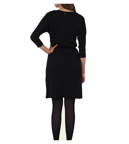 King Louie Missy Dress Milano Crepe Black