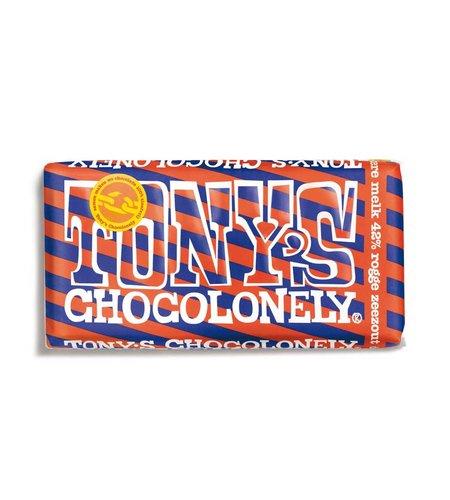 Tony's Chocolonely Limited Edition: Donkere Melk, Rogge en Zeezout