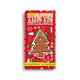 Tony's Chocolonely Kerstreep Melk Glühwein