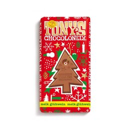 Tony's Chocolonely Kerstreep Melk Gluhwein