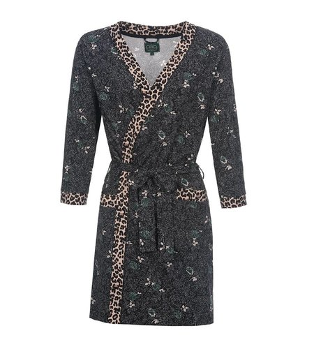 Vive Maria Miss Lily Dressing Gown Dark Green