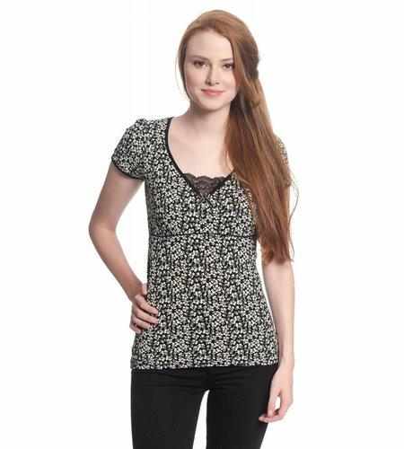 Vive Maria City Flower Shirt Black