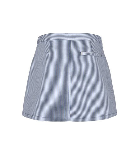 King Louie Anna Skirt Americana Stripe Palace Blue