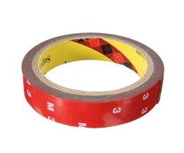 Foam Tape Dubbelzijdig 3 Meter Lang 20mm Breed voor de Auto
