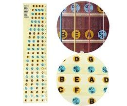 Inlay Stickers voor Basgitaren