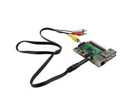 AV Kabel voor Raspberry Pi B+