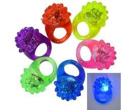 5 Stuks Rubberen Ring met LEDlicht