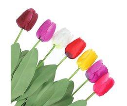 Kunstbloemen Tulp 10 Stuks